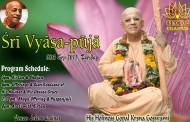 Sri Vyasa Puja